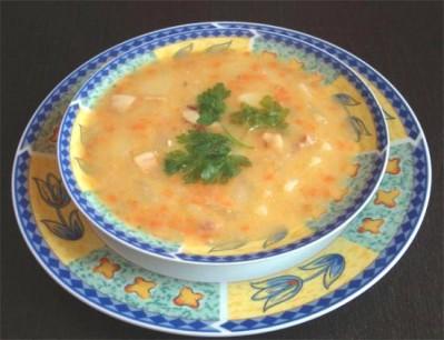Финский гороховый суп с горчицей – кулинарный рецепт